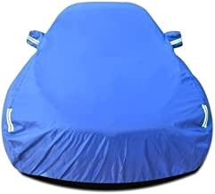 Car Cover Compatible with Volkswagen Beetle Convertible Car Cover Waterproof Breathable Thick Sun Protection Rain Tarpaulin Canvas (Color : Blue)