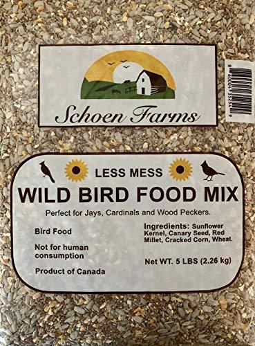 Less Mess Wild Bird Food Mix (5 Lbs)