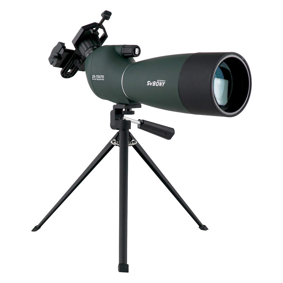 SVBONY Spotting Telescope 25 75x70mm Birdwatching
