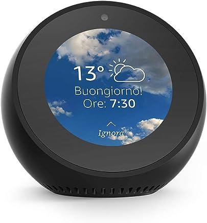 Amazon Echo Spot - Sveglia intelligente con Alexa - Nero