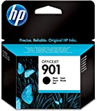 HP 901 CC653AE Cartuccia Originale da 200 Pagine, Compatibile con le Stampanti Officejet All-in-One 4500, J4580 e J4680, Nero