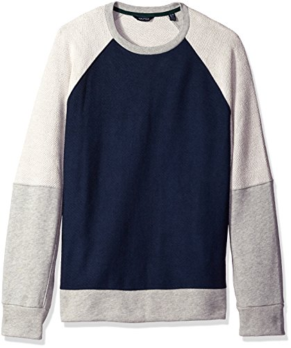 Nautica Men's Color-blocked Pullover Sweaters