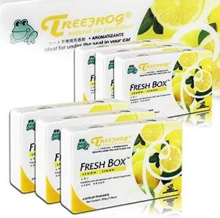 HK5 6 X Tree Frog Lemon Limon Natural Extreme Ambientador para coche Fresh Box Universal