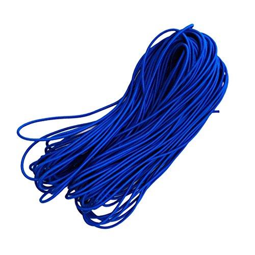 Sharplace 6 mm Sandow Tendeur Bungee Cordon Élastique Corde de Choc Résistant à Usure pour Barre de Toit Remorque Bâches Bateau - 10m, Bleu