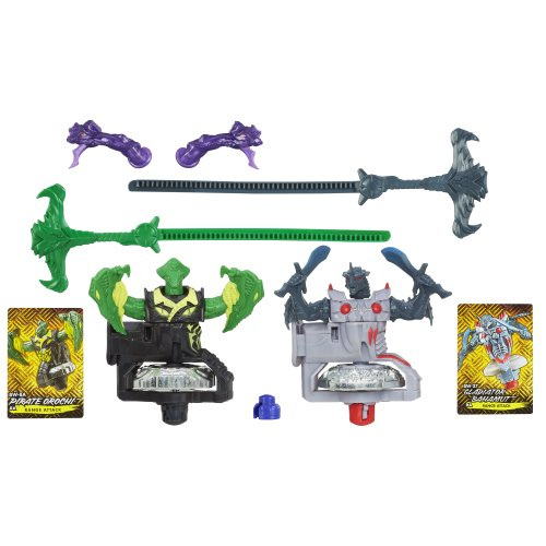 Beyblade Shogun Steel BeyWarriors Dark vs. Water Element 2-Pack