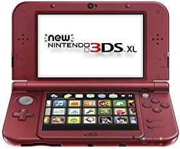 Nintendo New 3DS Xl - Red [Discontinued] (Renewed)