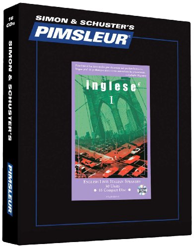 Compare Textbook Prices for Pimsleur English for Italian Speakers Level 1 CD: Learn to Speak and Understand English as a Second Language with Pimsleur Language Programs 1 Comprehensive Italian Edition Abridged Edition ISBN 9780743525299 by Pimsleur