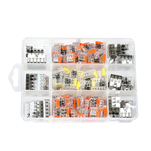 ViD® C2073 + UC Steckklemmen- und Hebelklemmen-Sortimentsbox 150-teilig