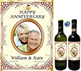 Party People PERSONALISED WINE BOTTLE LABEL - ANY PHOTO + ANY NAME (Type 1)
