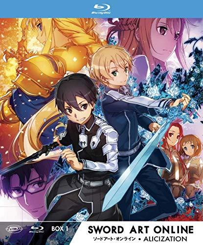 Sword Art Online III Alicization - Limited Edition Box #01 (Eps 01-12) (3 Blu-Ray) (1 BLU-RAY)