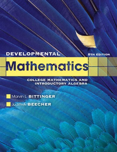 Developmental Mathematics plus MyLab Math/MyLab Statistics  -- Access Card Package (8th Edition)