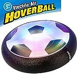 Switchali Air Hover Ball Juguete Balón de Fútbol Flotante, Pelota con Suspensión de Aire y Luces LED para Jugar Fútbol en Casa sin Riesgo a Romper Nada
