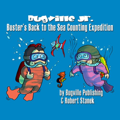 Buster's Back to the Sea Counting Expedition audiobook cover art