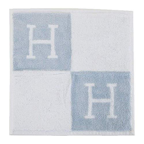 【名入れ対応可】【正規リボンBOX付き】エルメス HERMES ハンカチ レディース タオルハンカチ ハンドタオル Avalon アヴァロン 102192M (ブルー)