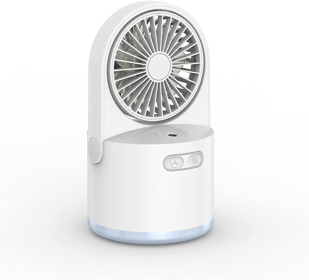Desktop Air Cooler 2000mAh USB Speeds Rechargeable Ai Personal Popular Save money product 3