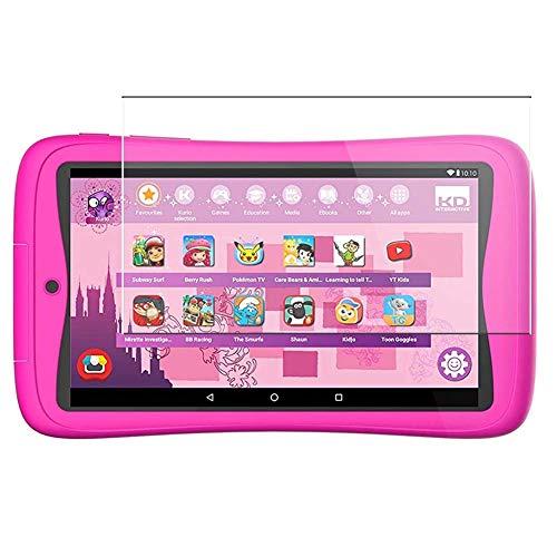 Vaxson 3 Unidades Protector de Pantalla, compatible con Kurio C18151 Tab Connect Kinder Kids Tablets 7' [No Vidrio Templado] TPU Película Protectora