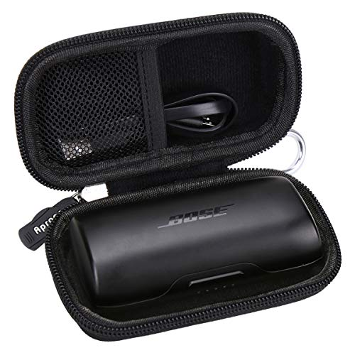 Aproca Hard Storage Travel Case Bag Fit for Bose SoundSport Free Truly Wireless Sport Headphones (Black)