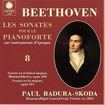Beethoven: Les sonates pour le pianoforte sur instruments d'époque, Vol. 8