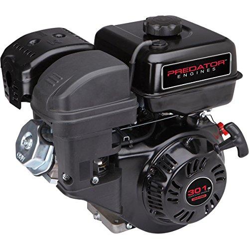 8 HP (301cc) OHV Horizontal Shaft Gas Engine EPA/CARB Special