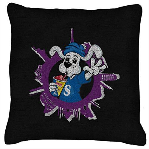 Slush Puppie Distressed World Background Cushion