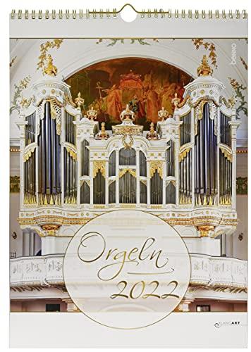 Orgeln 2022: Kalender mit CD