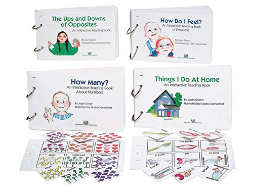 """School Specialty 018708""""Things I do at Home"""" Interactive Reading Book"""