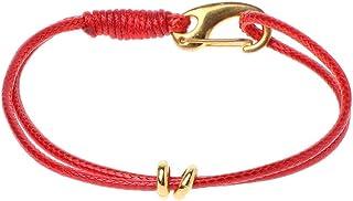 بحري معدن هوك الحرير حبل الشمع حبل سوار للرجال الأزياء والمجوهرات