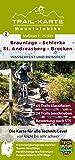 MTB Trail-Karte Harz: Braunlage – Schierke – St. Andreasberg – Brocken: Nr. 2   Wasser- und reißfeste Mountainbike-Karte