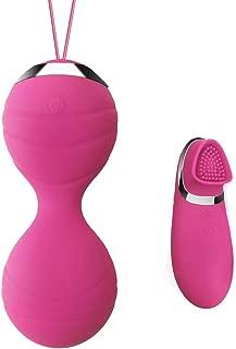 JIELUO Bolas Chinas Suelo Pelvico Huevo Vibrante de Control Remoto Bolas Chinas con Mando a Distancia Ejercicios Kegel Bolas de la Salud para Mujer.