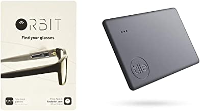 $53 » Orbit Glasses - Bluetooth Glasses Finder & Tile Slim (2020) 1-Pack - Slim & Sleek Bluetooth Tracker, Item Locator and Find...