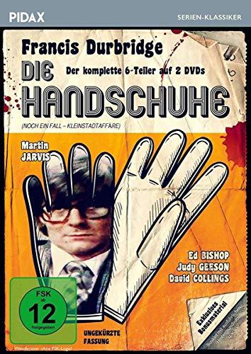 Francis Durbridge: Die Handschuhe / Der komplette 6-Teiler mit exklusivem Bonusmaterial (Pidax Serien-Klassiker) [2 DVDs]