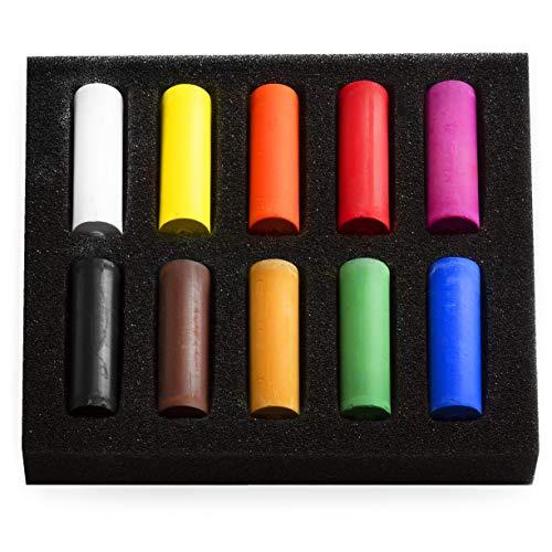 Royal Talens Rembrandt Lot de 10 pastels souples 10 couleurs assorties