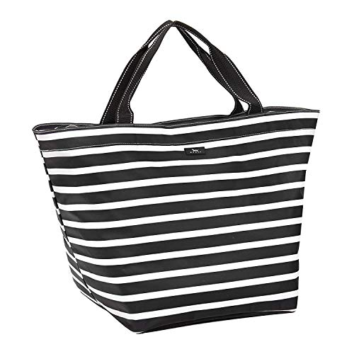 SCOUT Weekender Travel Bag, Lightweight Water-Resistant Travel Tote Bag or Beach Bag for Women in Fleetwood Black Pattern (Multiple Patterns Available)