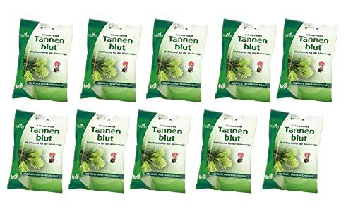 Hübner 10x71g Tannenblut Hustenbonbons gefüllt