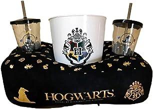 Kit Almofada Pipoca Harry Potter Hogwarts