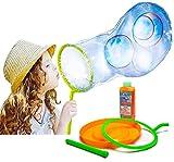 TOYLAND Giant Bubble Making Kit / Solution - CREA Bolle enormi - Giocattoli da esterno - Giochi da giardino (Burbuja Equipo)
