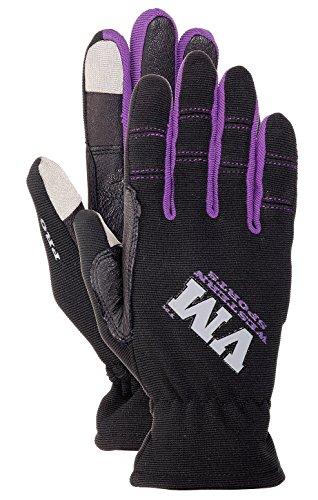 VM Western Sports Damen Reithandschuh Ladies lila Pro L Handschuh, L