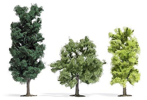 Busch - 3 arbres à feuilles