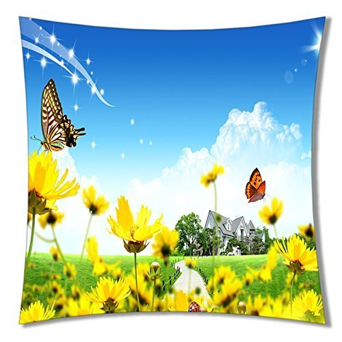 B-ssok High Quality of Pretty Flower Pillows A216