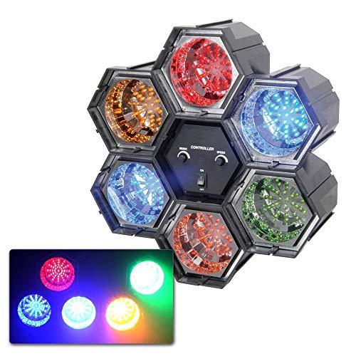 Qtx Vernetzbare LED-Pods mit Controller, 6 Stück