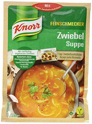Knorr Feinschmecker Zwiebel Suppe, 14er Pack (14 x 750ml)