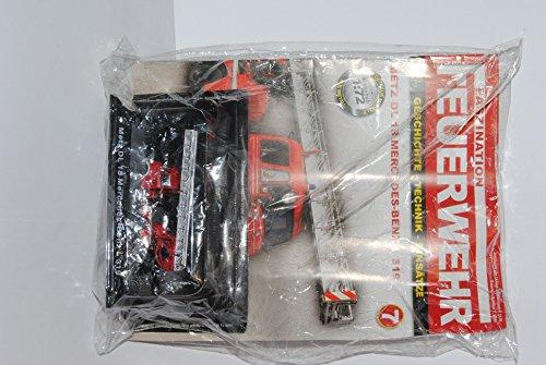 DeAgostini . Faszination Feuerwehr Nummer 7: Metz DL 18 Mercedes-Benz L 319 - Modellauto-Sammlung