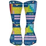 remmber me Elementos de tabla periódica para hombres y mujeres Calcetines largos deportivos