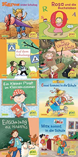 Pixi Kassette Nr 223 Willkommen in der Schule Broschiert vierfarbig je 24 Seiten 10x10cm ab 3 64 Exemplare LVK 0,99 - Liefermenge 64 Stück