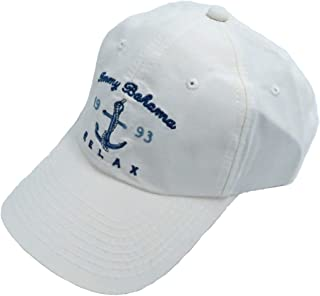 white unstructured cap