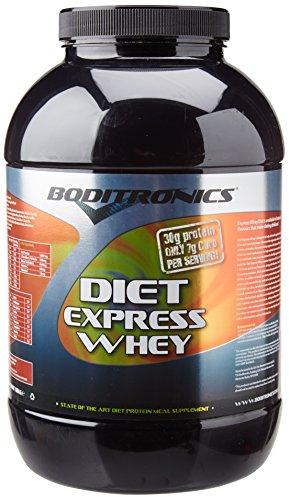 Boditronics Diet Whey Protein Shake Powder, 1.8kg Banana Split