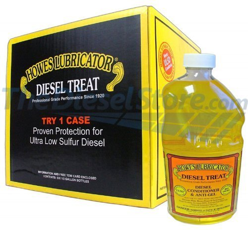 Howes Lubricator Diesel Treat Diesel Conditioner and Anti-gel 1/2 Gallon Case of 6 Treats 250 gallons diesel fuel per Bottle
