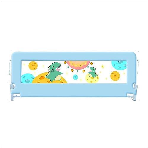 Barrières de lit Xiaolin Grande de Garde-Corps de d'enfant Dorhommet Le Baffle Pliable de lit Pliable (Couleur   bleu, Taille   200cm)