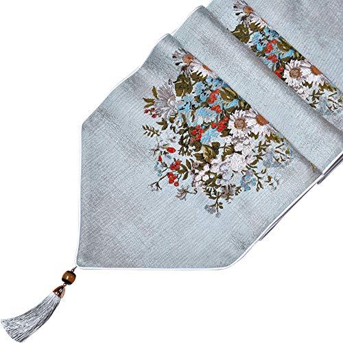 Xiao Jian Tafelloper - Amerikaanse tafelvlag salontafel vlag, moderne minimalistische tafelvlag, Europese luxe high-end Jacquard bedvlag, bedlaken, tafelkleed
