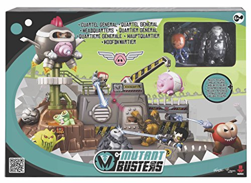 Mutant Busters – 700012992 – el cuartel General